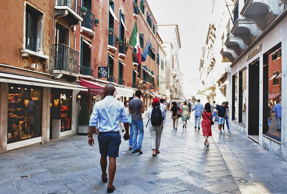 Tourist Economy And Local Retail In Italy