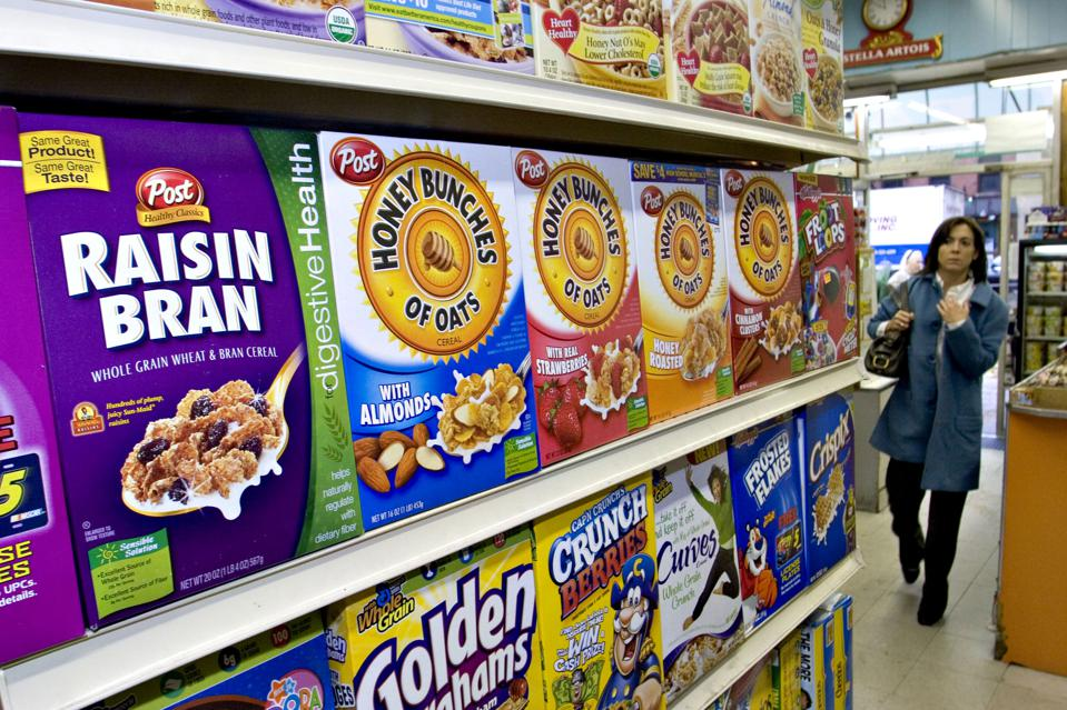 Post cereals. JB Reed/Bloomberg News