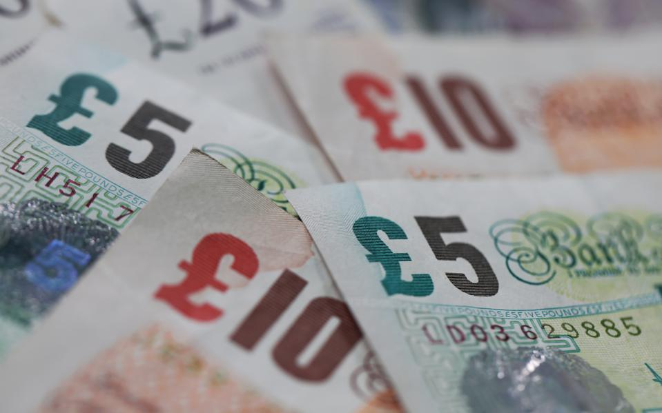 British Currency As Bank Of England Raises Growth Forecasts