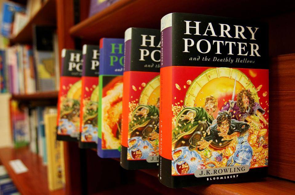 J.K. Rowling's Harry Potter books a U.K. lockdown ″bestseller″ according to U.K. publisher, Bloomsbury.