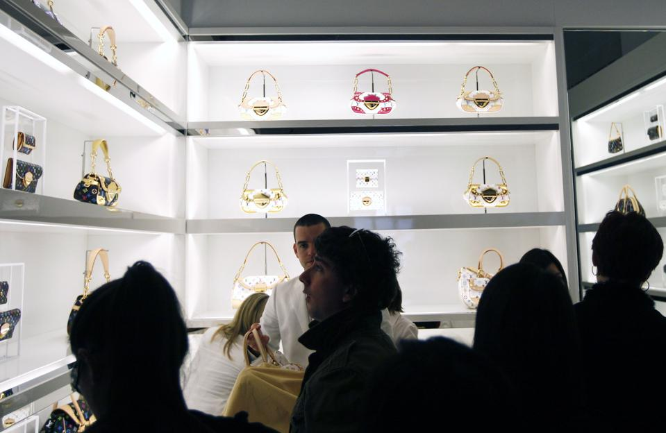 Louis Vuitton handbags by Takashi Murakami