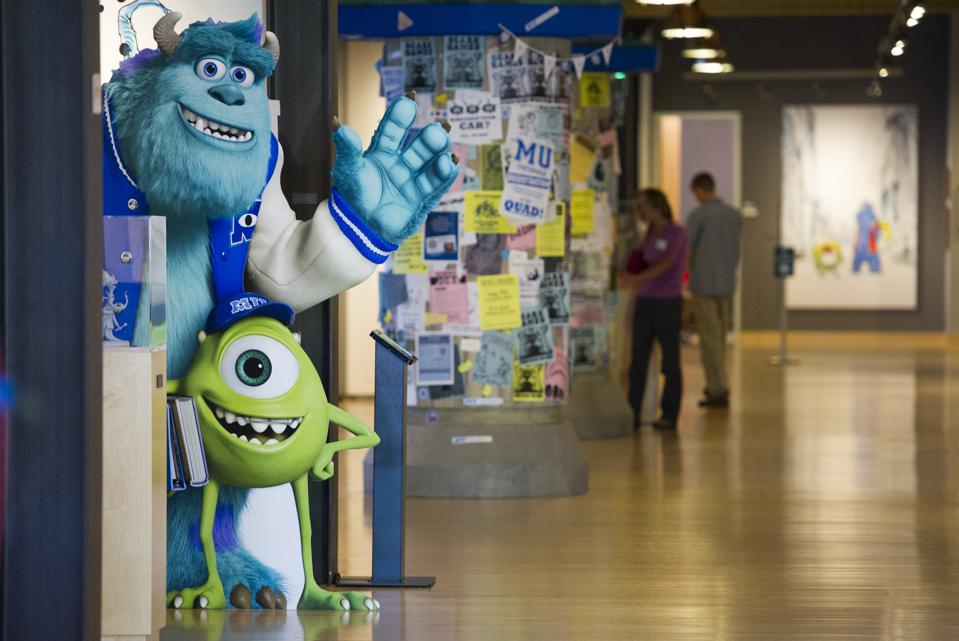 There is an amazing culture at Pixar.