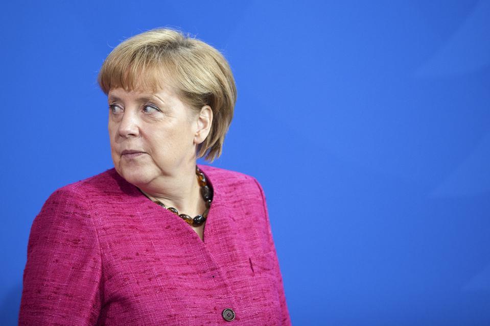 Germany's Chancellor Angela Merkel News Conference