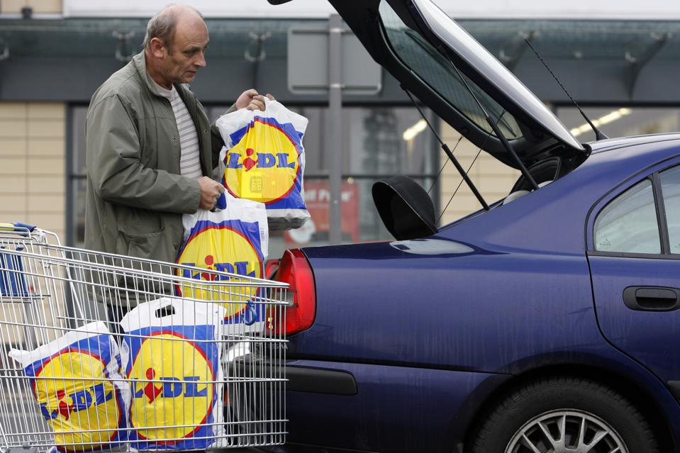 A Lidl store in north London.
