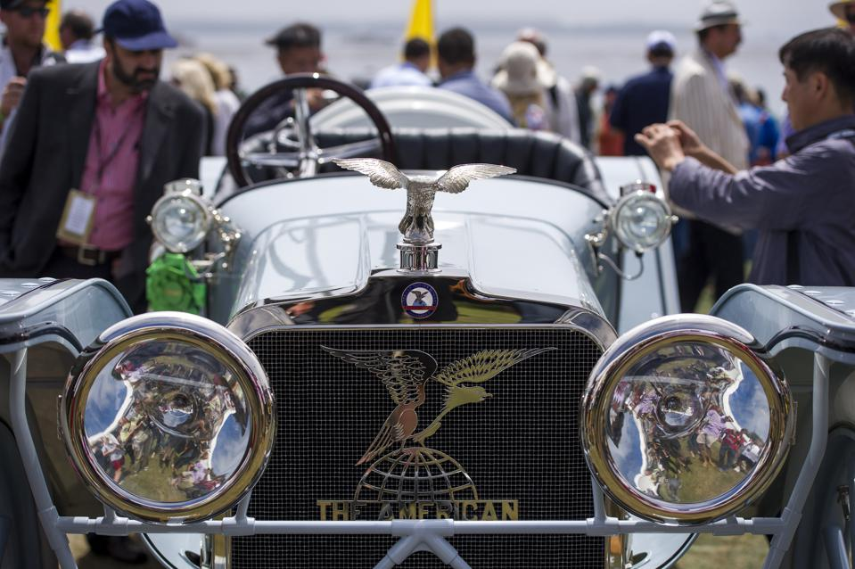 Views From The Pebble Beach Concours d'Elegance Classic Car Show