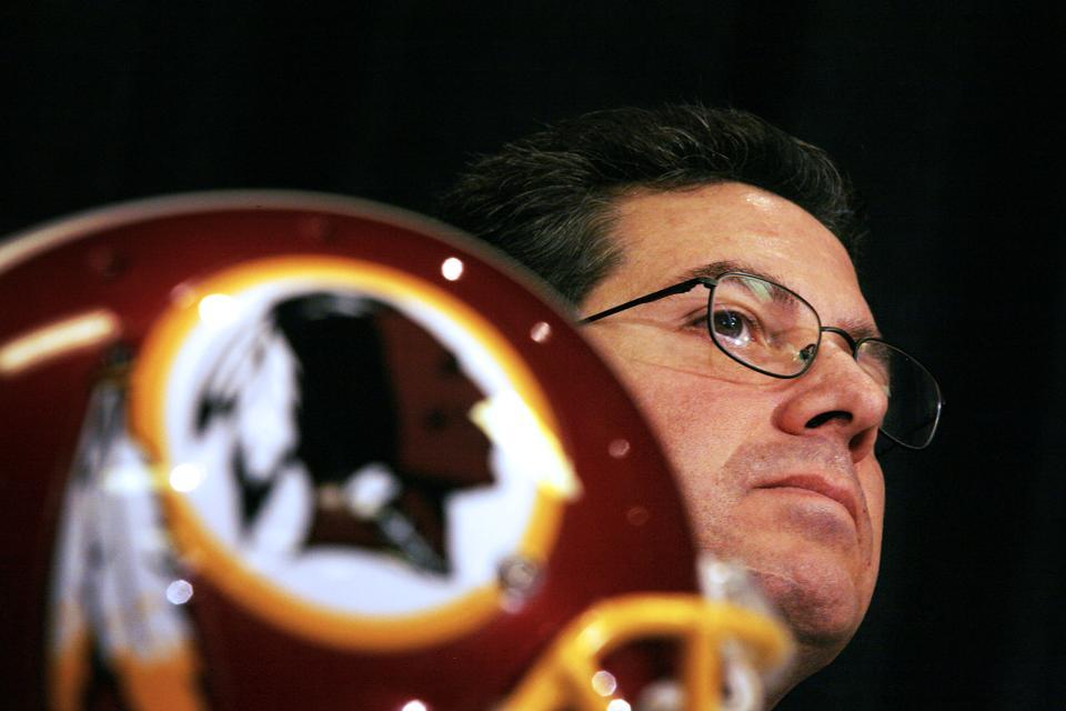 Dan Snyder, owner of the Washington Redskins.