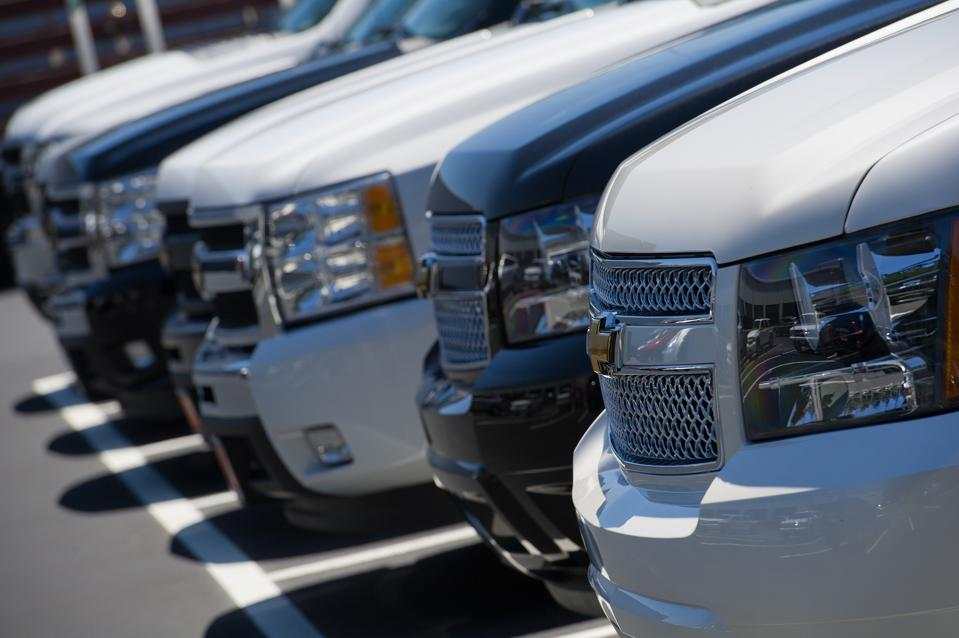 GM's Truck Inventory Swells