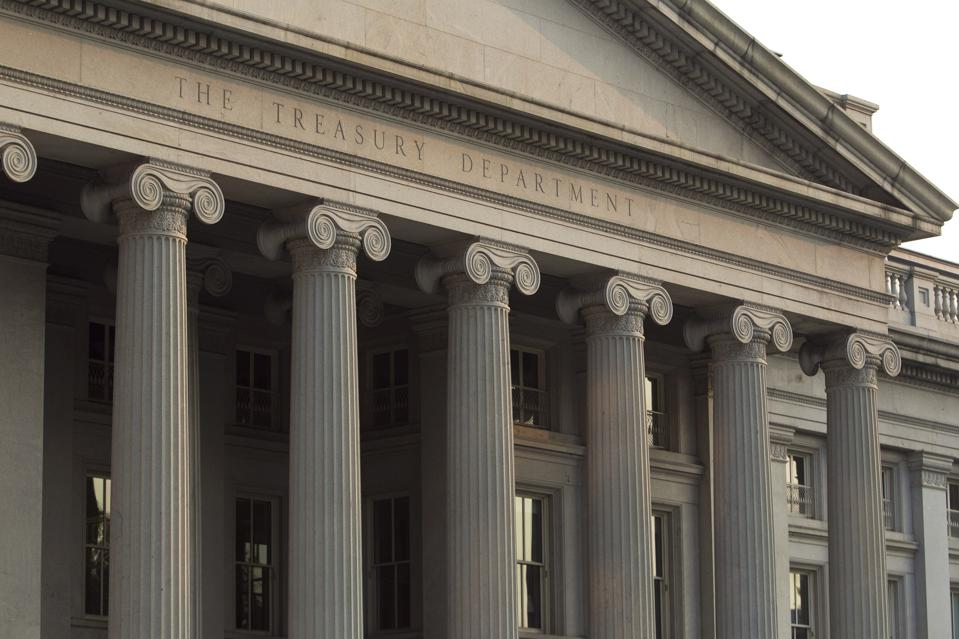 The U.S. Department of the Treasury.