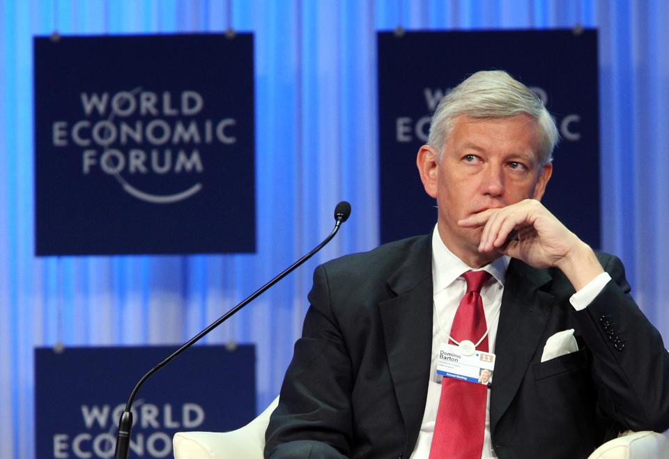 How Dominic Barton Cultivated Community Change At McKinsey