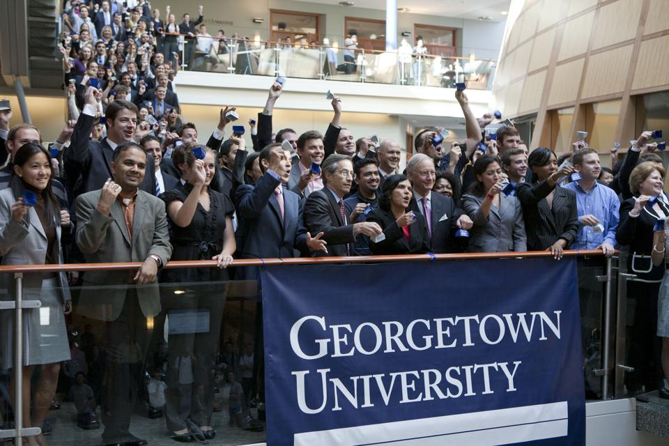 Georgetown Panel Discussion On Role Of Capital Markets In Jobs Creation