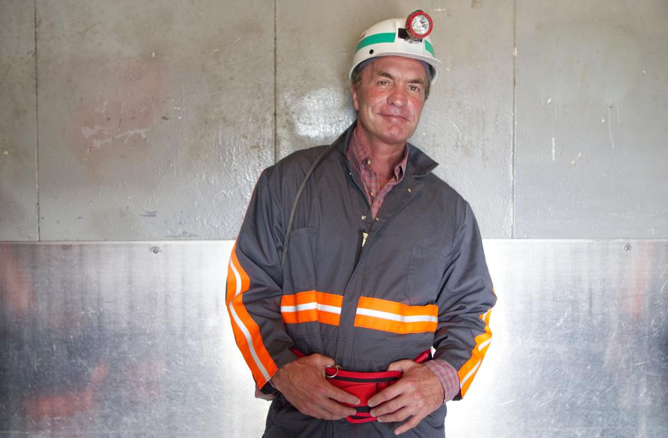 Billionaire Cline Talks Clean As Coal Mines Supply Most Energy Since 1970