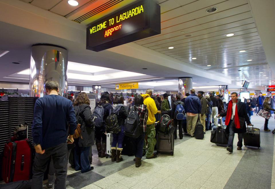 Stranded Passengers Face Wait As Storm Recovery Starts