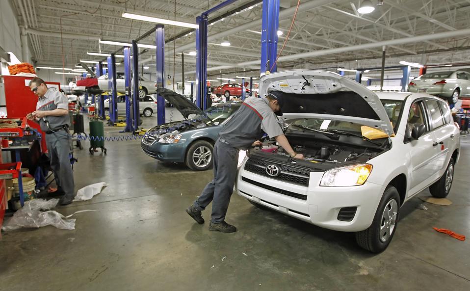 The AAA says car repair bills average $500-$600.