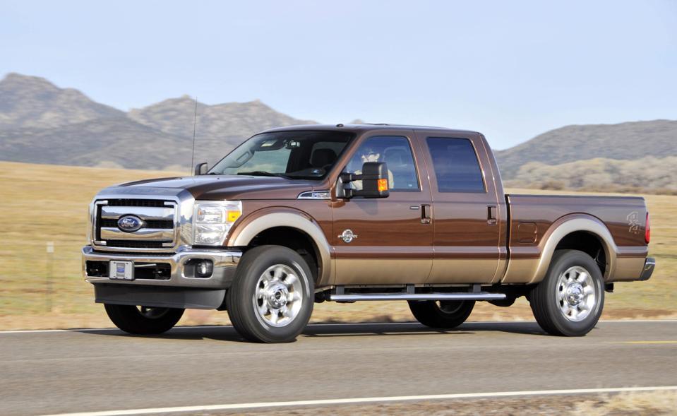 Test Drives For Ford Motor Co. Super Duty Trucks