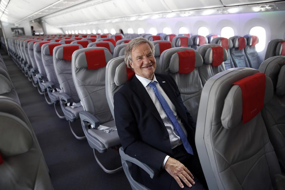 Norwegian Air Shuttle AS Launch Inaugural Flight From London To New York