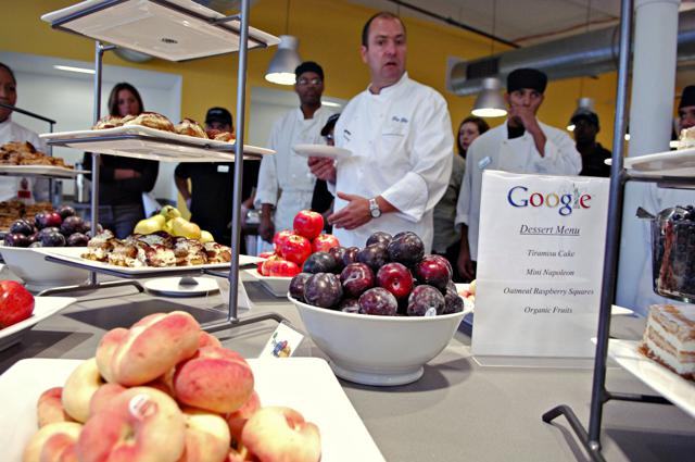 The Real Reason Google Serves All That Free Food