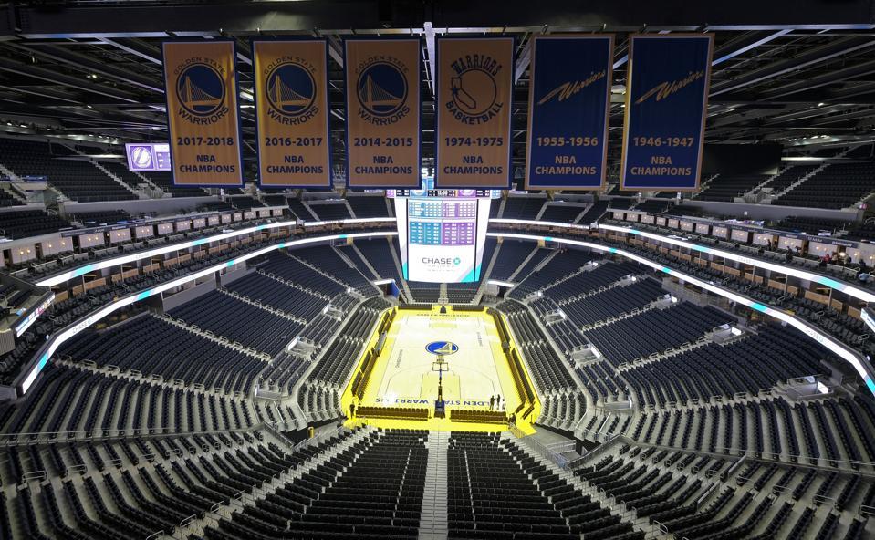 Warriors Chase Center Basketball