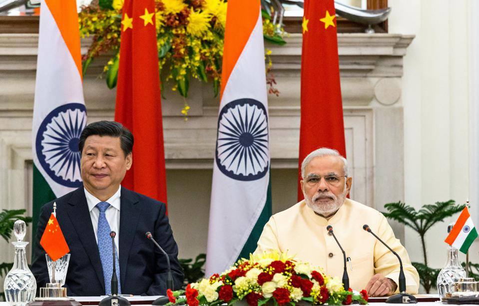 Chinese President Xi Jinping Meets With Indian Prime Minister Narendra Modi