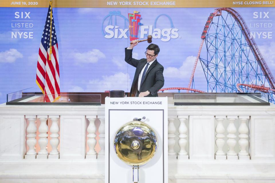 Six Flags (NYSE: SIX) Virtually Rings The Closing Bell
