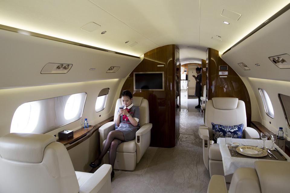 These Private Jets Will Let You Stand Tall