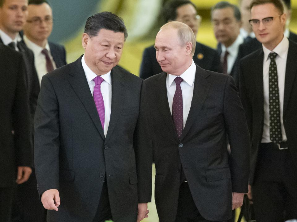 APTOPIX Russia China