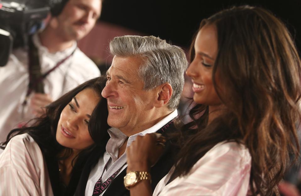 L Brands Inc. Chief Marketing Officer Ed Razek Interview At Victoria's Secret Fashion Show London 2014