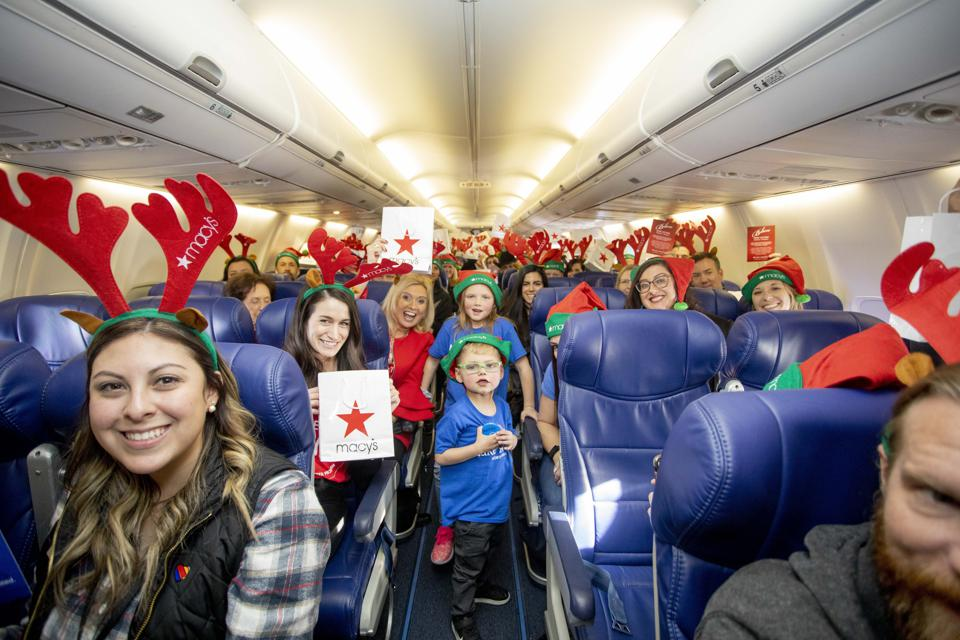 Southwest Airlines and Macy's team to support Make a Wish.