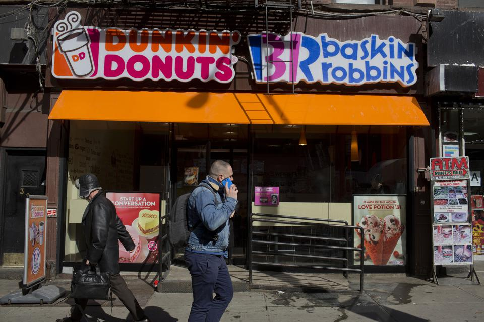 Operations Inside A Dunkin Donuts Inc. Restaurant Location