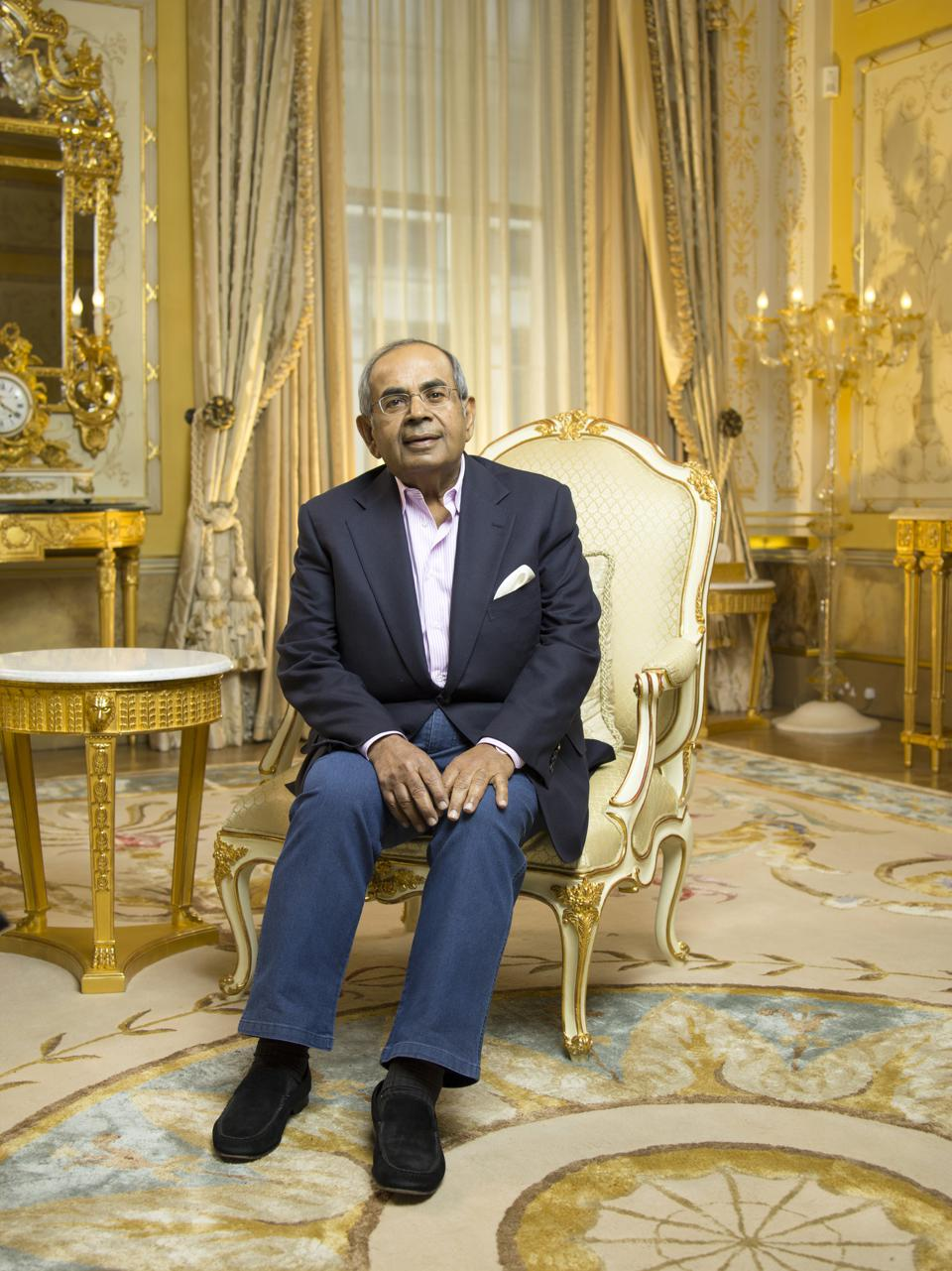 Billionaire And Hinduja Group Co-Chairman Gopichand Hinduja