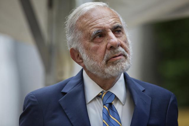 Billionaire Carl Icahn's Investment Fund Up 8.4% In The First Half Of 2015