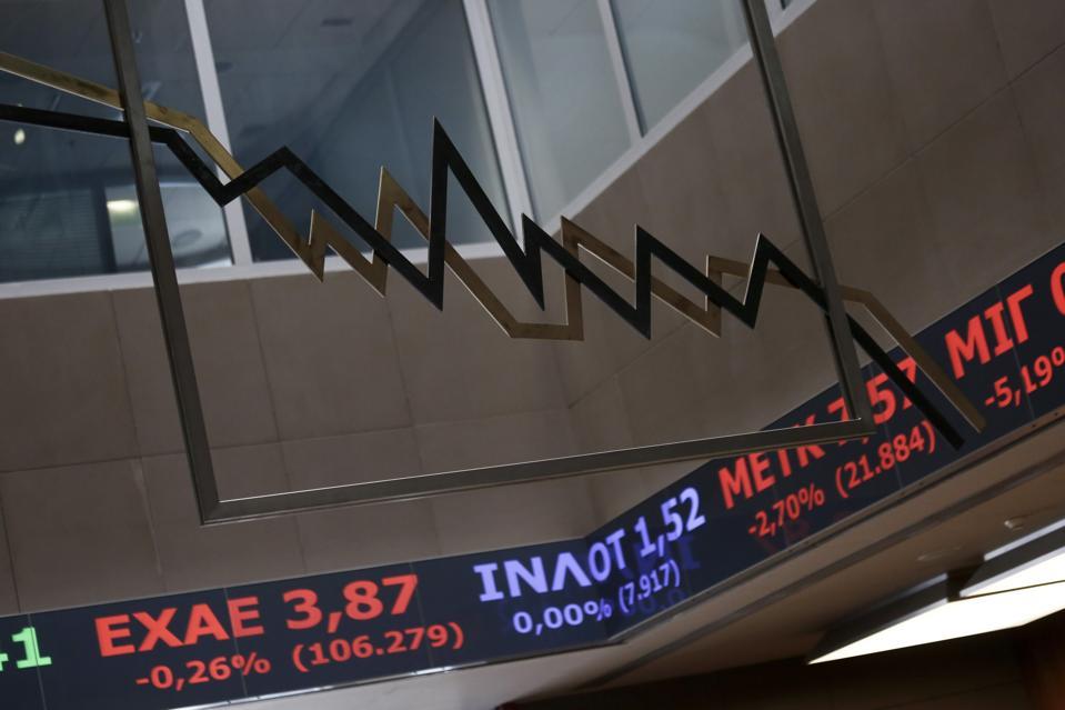 Greek Stock Exchange Following Biggest Share Slump Since 1987