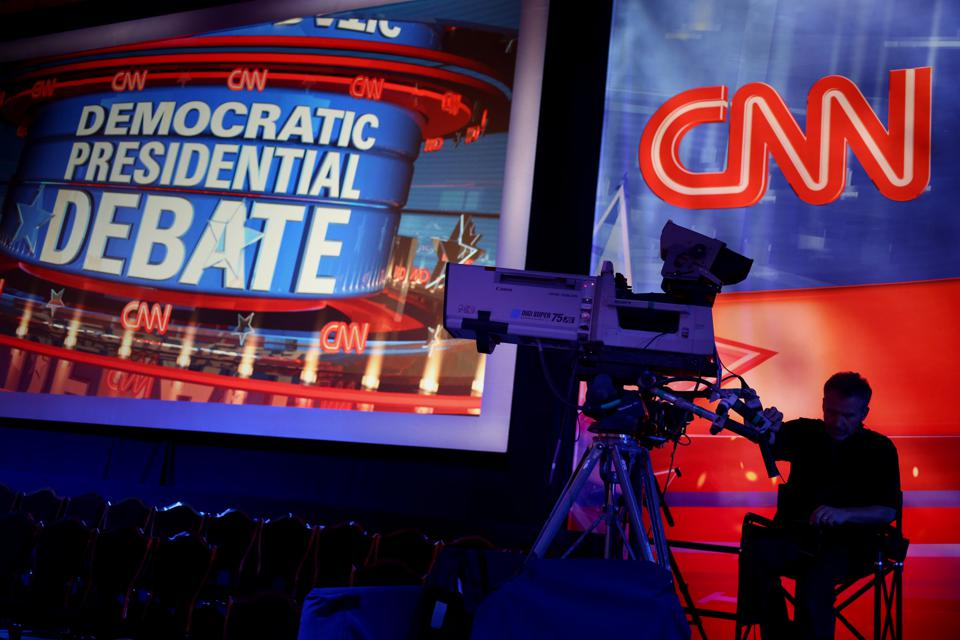 CNN And Facebook Host The First Democratic National Committee Presidential Primary Debate