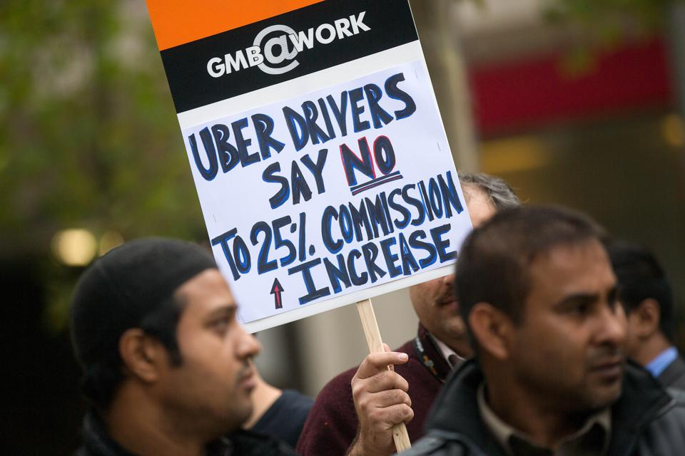 Uber Tries To Limit Drivers Even As Seattle Says Unionize