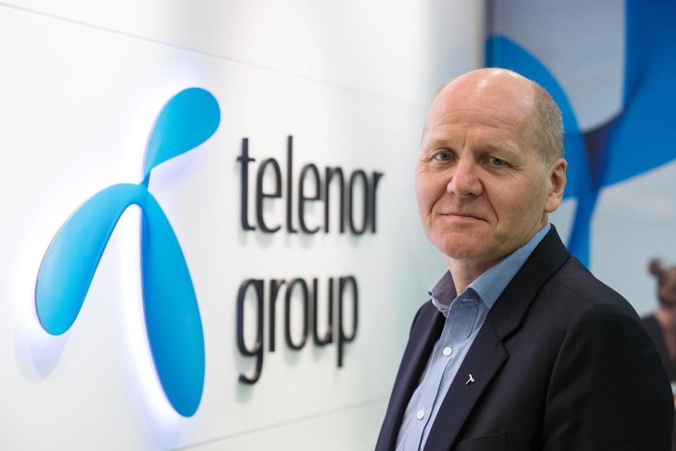 Sigve Brekke, Telenor Group President and CEO