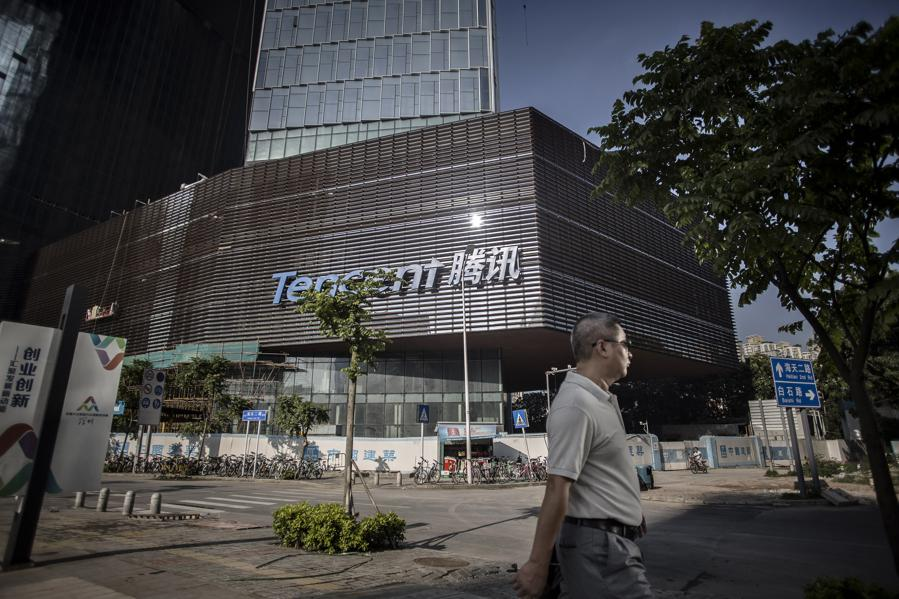 Tencent On Top In China -- But How Does It Compare With World's Tech Titans?