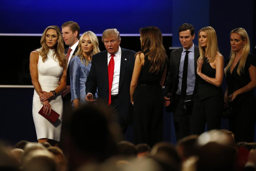 Trump Will Hand Over His Business To Sons