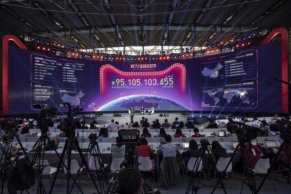 Singles' Day Sales Scorecard: A Day In China Now Bigger Than A Year In Brazil