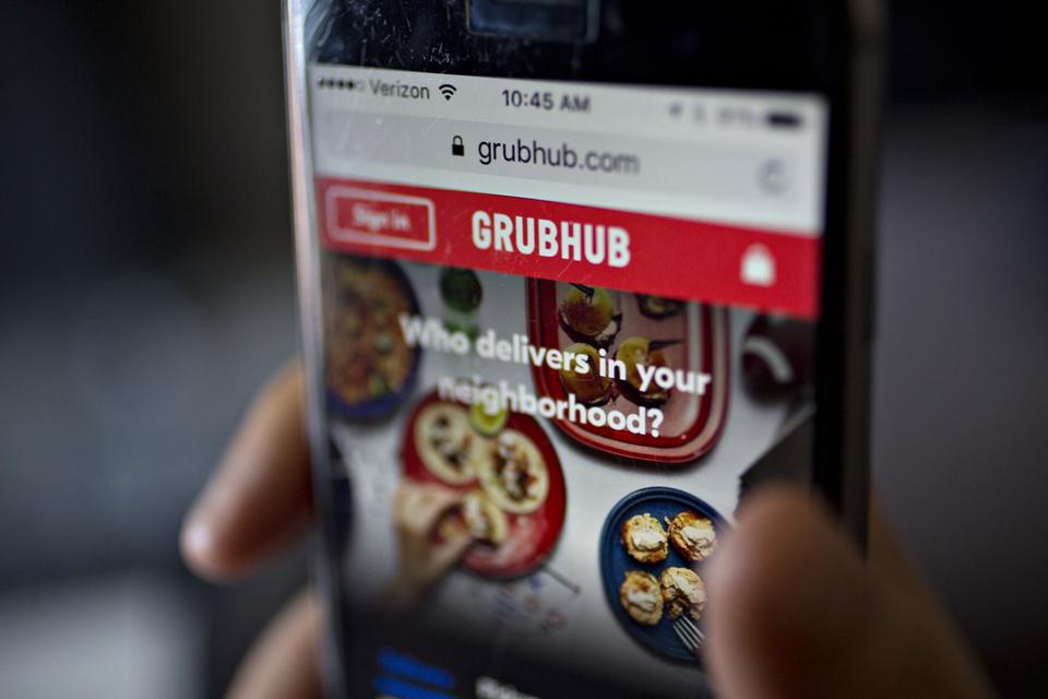 Grubhub features over 300,000 restaurants in 4,000 U.S. cities and London.