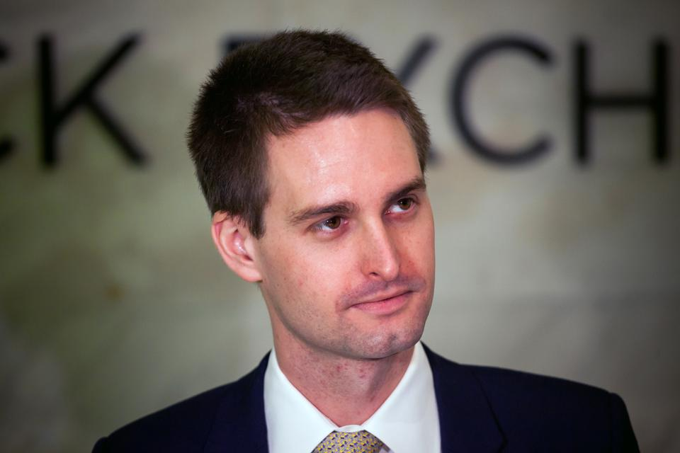 Evan Spiegel's Net Worth Drops $1 Billion In Minutes After Snap Posts Weak First Quarter
