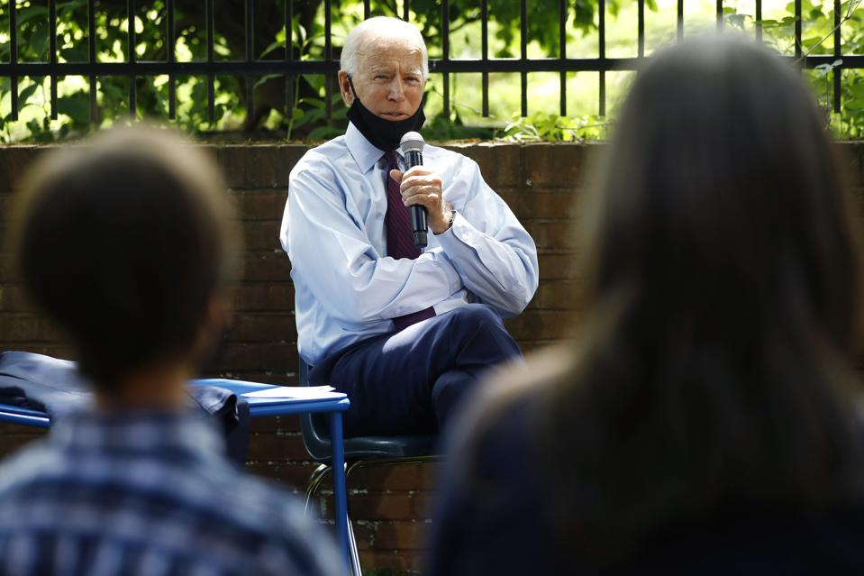 Election 2020 Joe Biden, affordable care act, obamacare
