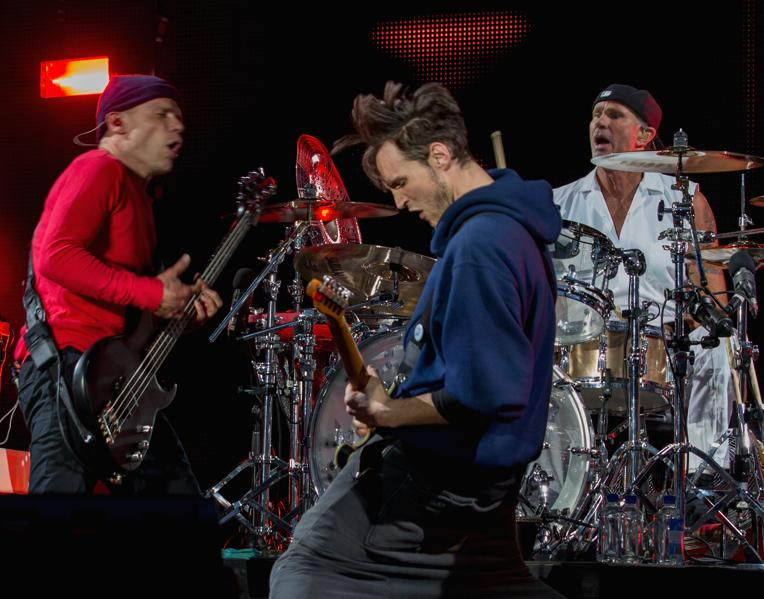 No. 22: Red Hot Chili Peppers ($40 million, tie)