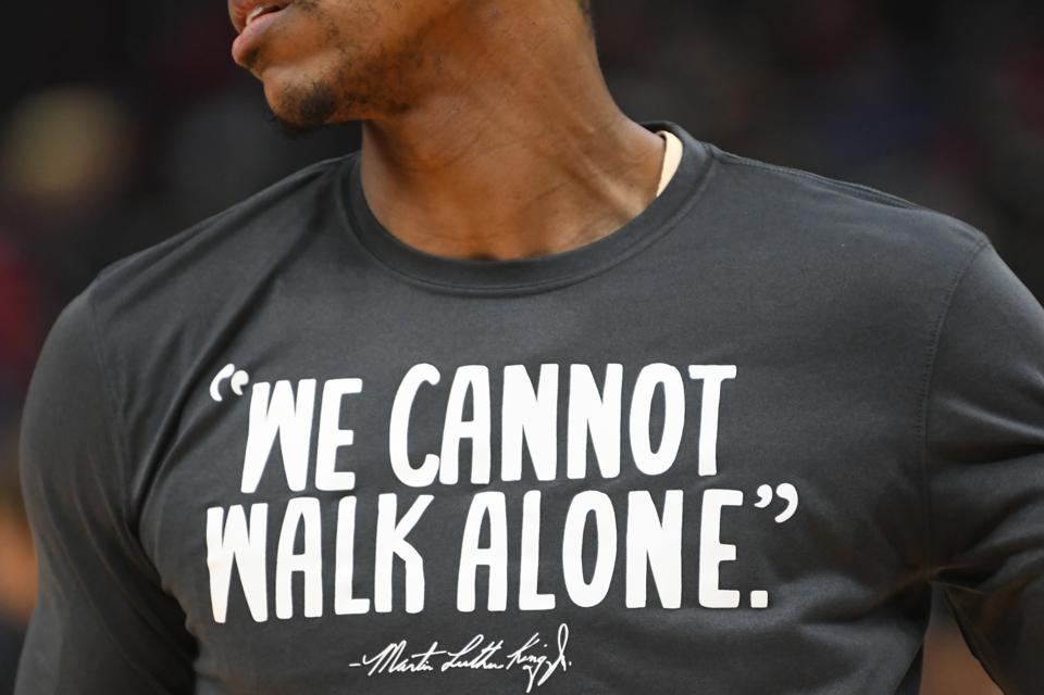 Raptors Hawks Basketball MLK Day