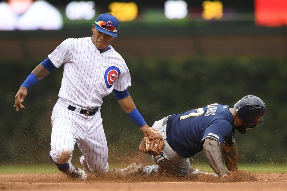 Brewers Cubs Baseball
