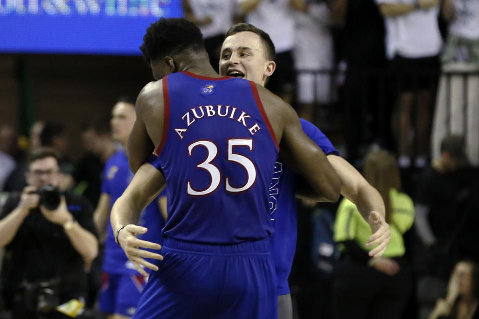 After Weekend Of Upsets, Kansas Emerges As Latest Top Team In Men's College Basketball
