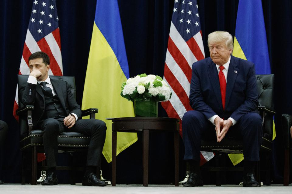 Trump Impeachment Vulnerable Ukraine