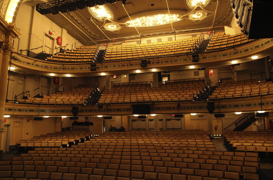 Travel-Inside a Broadway Theater