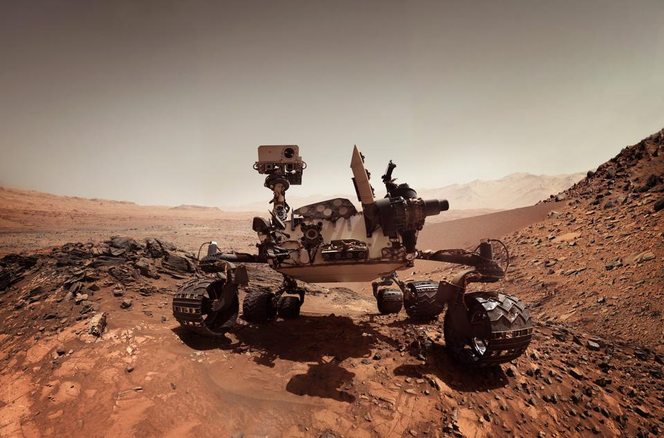 The Mars Rover Just Fired Half A Million Laser Shots