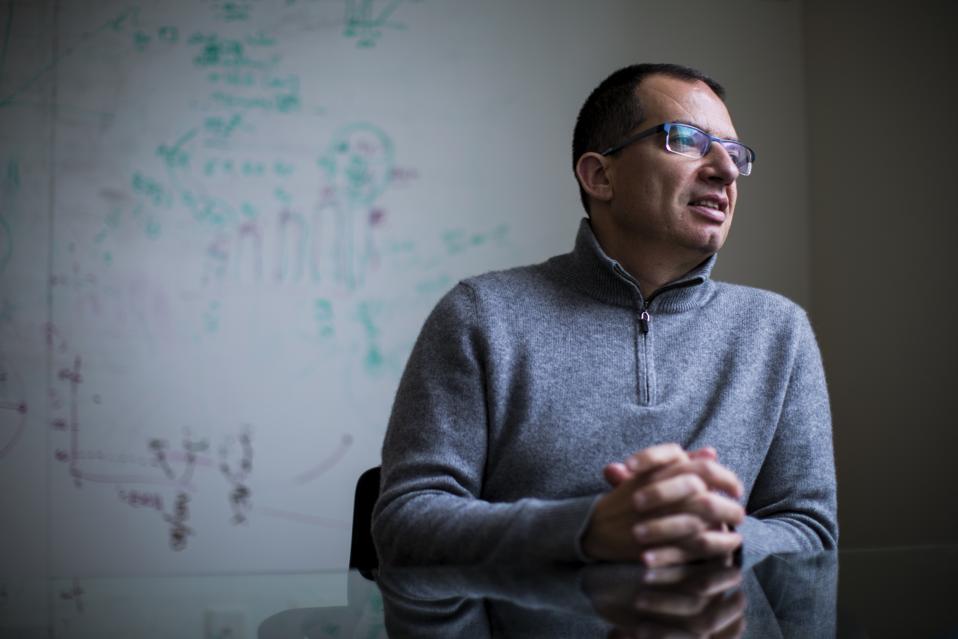 Stephane Bancel, chief executive officer of Moderna Therapeutics Inc.
