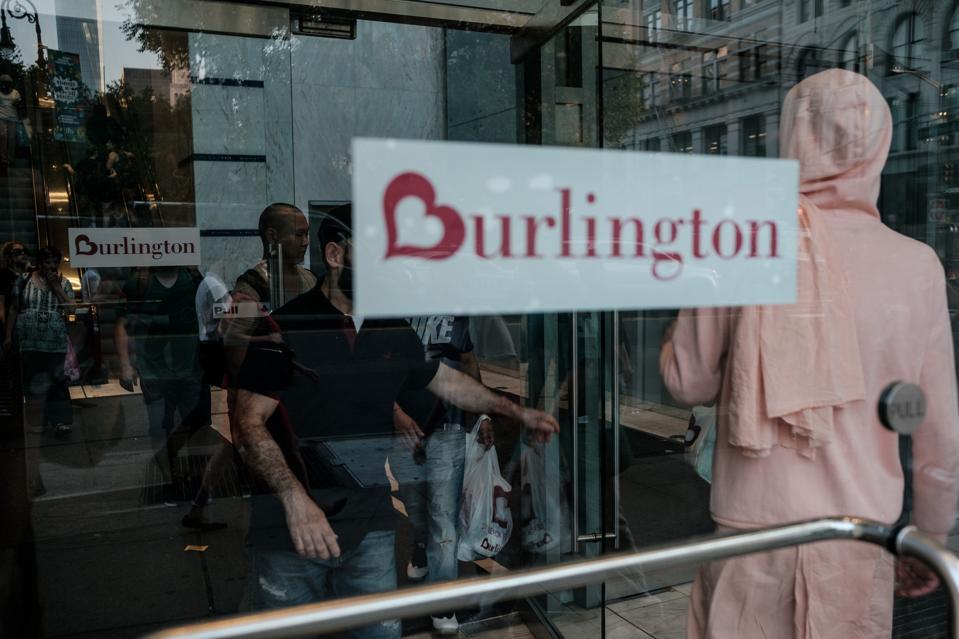 BURLINGTON EARNS