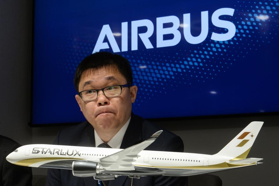 Chang Kuo-wei, founder of Starlux Airlines.